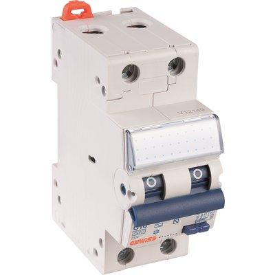 Disjoncteur différentiel - Compact - 2 pôles - Sensibilité 30 mA