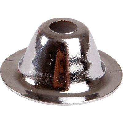 Rosace conique chromé - 9 mm - Plombelec