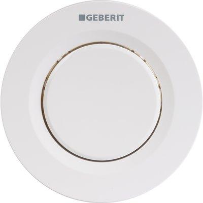 Bouton poussoir blanc - Double touche - Réservoir dissimulé - Geberit