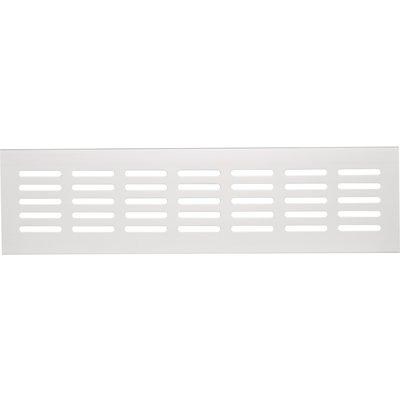 Grille blanche - 300 mm - À encastrer - Série 381/80 - Renson