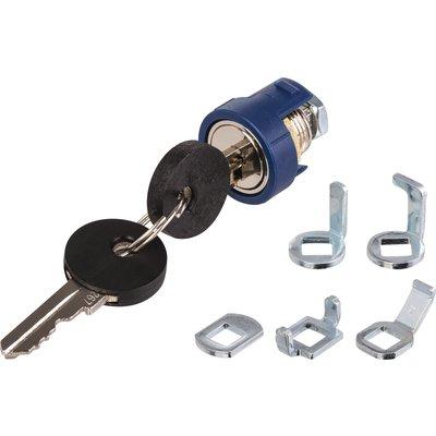 Serrure de sécurité à cylindre métal