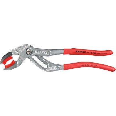 Pince pour siphon / tube en plastique / connecteur Knipex - Longueur 250 mm