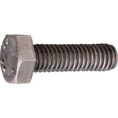 Vis métaux tête hexagonal - Ø 6 mm - 20 mm - Inox - Boîte de 200 pièces - A