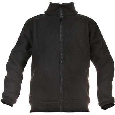 Veste polaire de travail doublée Eisenhower - Polyester - Noir