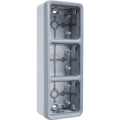 Boîtier 3 postes verticaux Plexo composable IP 55 - Legrand