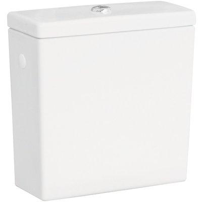 Réservoir pour pack WC céramique caréné
