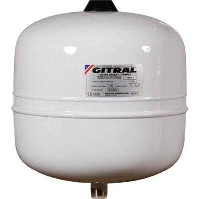 Vase d'expansion - 8 L - Eau sanitaire - Gitral