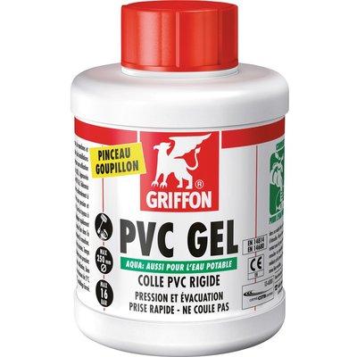 Colle PVC Aqua - À prise rapide - Gel
