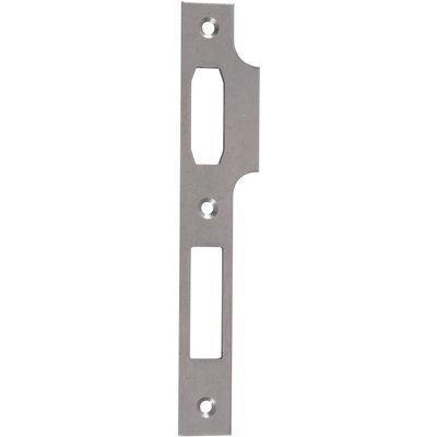 Gâche centrale Metalux - Pour serrure à rouleau et pêne dormant - Plate