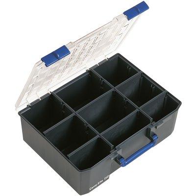 Coffret plastique double couvercle 15 rangements
