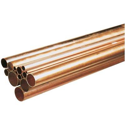 Tube cuivre en barre - Ø 14 mm - Barre de 4 m