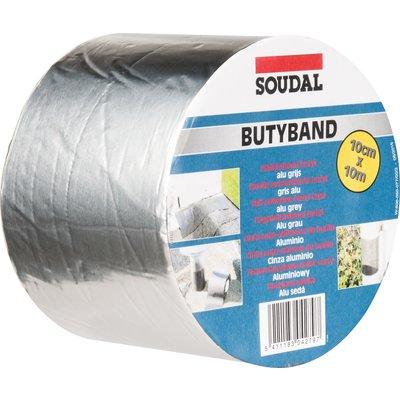 Bande d'étanchéité souple Butyband - Aluminium
