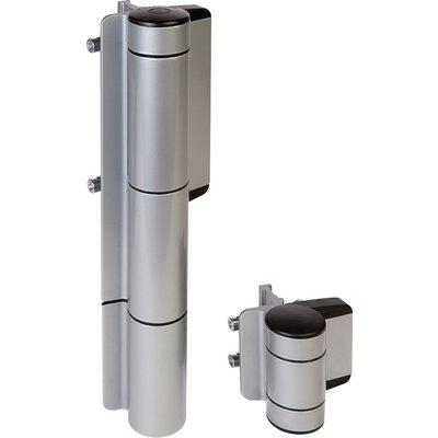 Ferme-portail hydraulique Mammoth - Avec charnière de 180° - Largeur du por