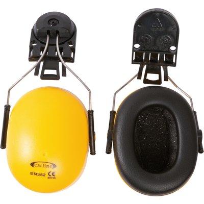 Coquille anti-bruit pour casque de chantier - Avec adaptateur - Réduction s