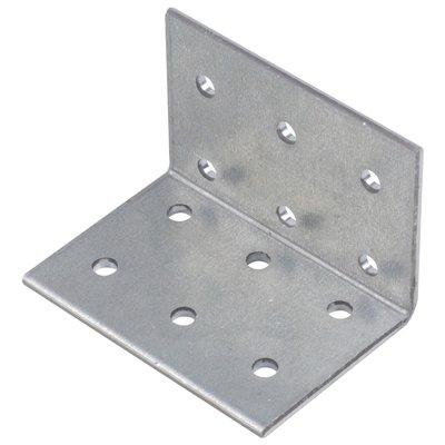Équerre standard perforée - 60 x 40 x 60 mm - Alberts