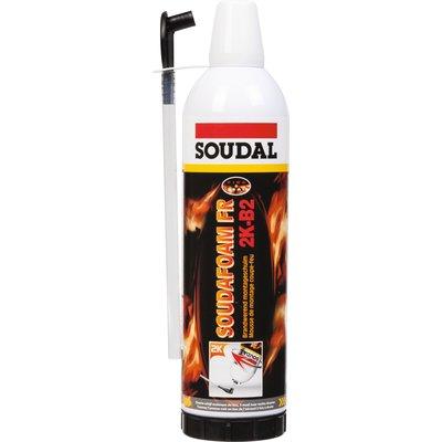 Mousse polyuréthane Soudafoam FR 2K - B2 - Coupe-feu
