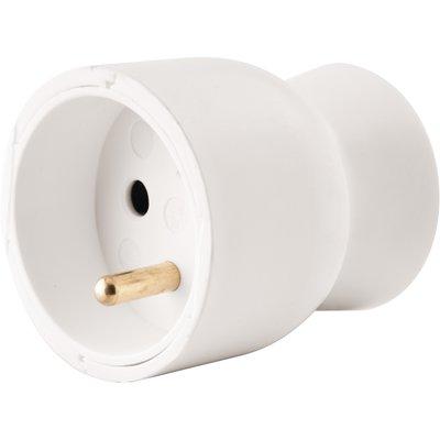 Prolongateur 2P+T plastique blanc - Legrand