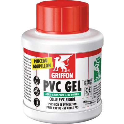 Colle PVC gel aqua - 500 ml - Griffon