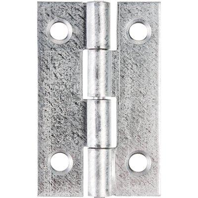 Charnière rectangulaire nœud roulé simple feuille - Monin - 60X35