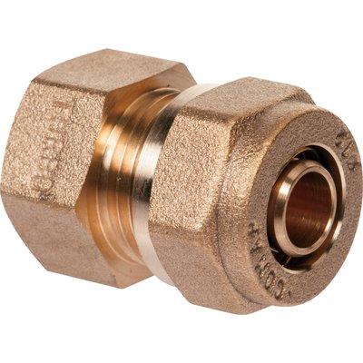 "Raccord PER droit à compression - F 1/2"" - Ø 16 mm - Comap"