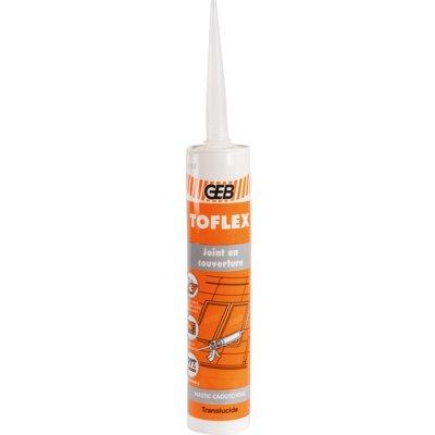Mastic d'étanchéité Toflex - Spécial couvreur - Contenance 300 ml