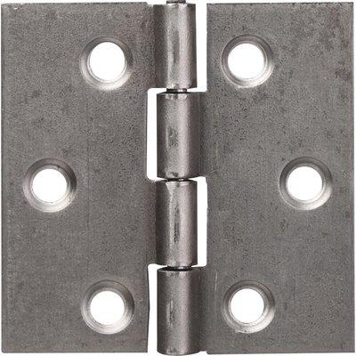 Charnière carrée nœud roulé simple feuille - Monin - 60X60