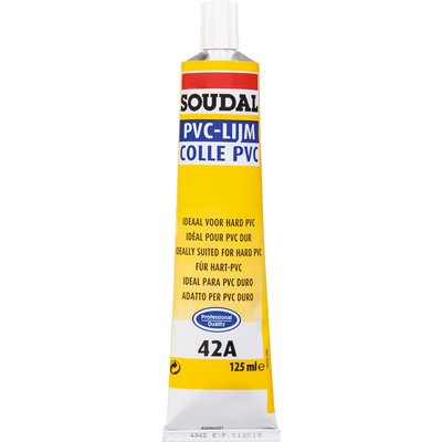 Colle PVC - 125 ml - 42A - Soudal
