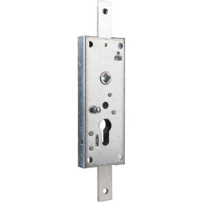 Serrure horizontale pour porte basculante zingué à souder - Clé I - WSS