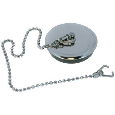 Bouchon de vidage plaque inox - Watts industries - 40X45 - 60