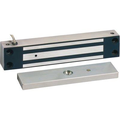 Ventouse électromagnétique 370 daN - En applique - Tension 24 V - Inox