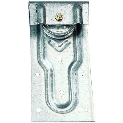 Monture Roc droit sur fer plat pour porte à déplacement Mantion Flot - 2 ac