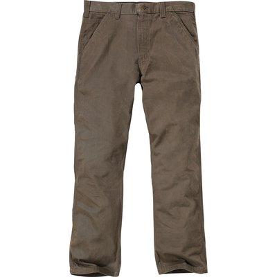 Pantalon B324 WASHED TWILL DUNGARE Marron T40