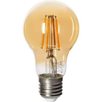 Ampoule standard LED Filament Golden E27 4W