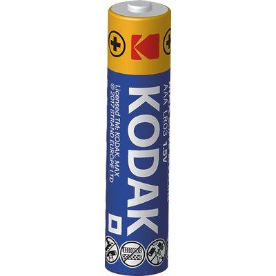 Piles alcalines Max Kodak - 6F22 - Tension 9 V - Vendu par 1