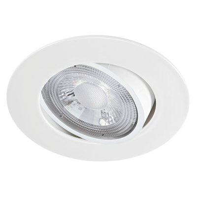 Spot encastré LED MI6 Aric - 5,5 W - 470 lm - 4000 K - Orientable - Blanc