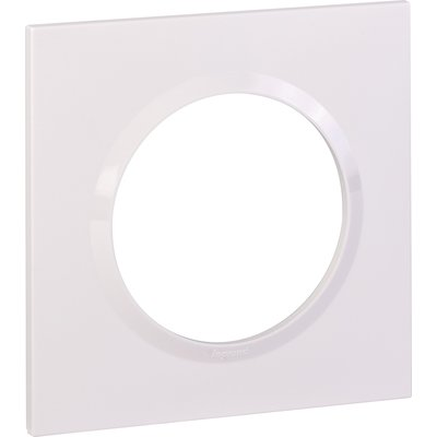 Plaque Dooxie Legrand - Carrée - 2 modules - Blanc