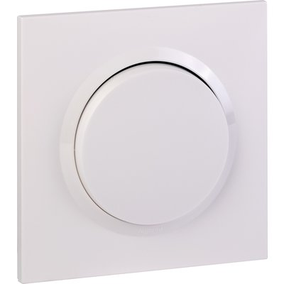 Interrupteur ou va-et-vient blanc 10 AX Dooxie one - Legrand
