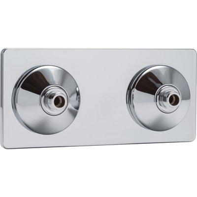 """Platine de fixation R-Fix lavabo M3/8"""" à glissement 12 - Riquier"""
