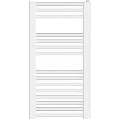 Radiateur sèche-serviettes étroit - Arès - Blanc