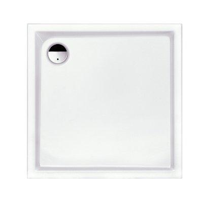 Receveur de douche carré blanc Slam - 90 x 90 cm - Leda