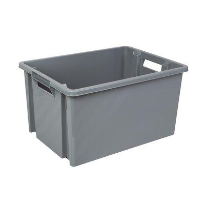 Bac gris acier multi-usage Novap - 30 L