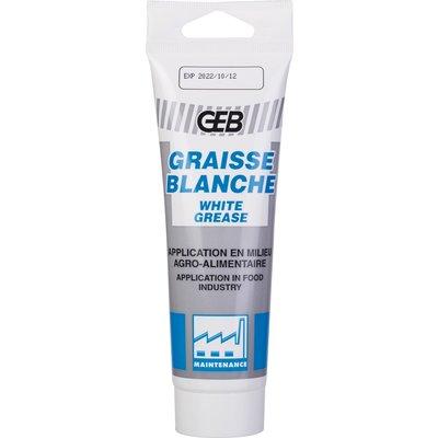 Graisse blanche lubrifiant alimentaire - 125 ml - Geb
