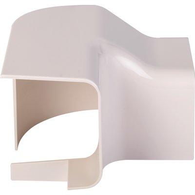 Angle vertical plastique rigide beige