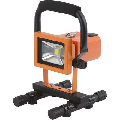 Projecteur LED de chantier rechargeable  Dhome - 900 lm - 2 batteries