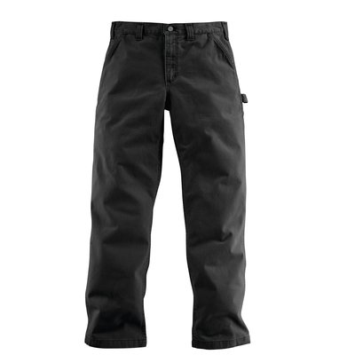 Pantalon B324 WASHED TWILL DUNGARE Noir T40