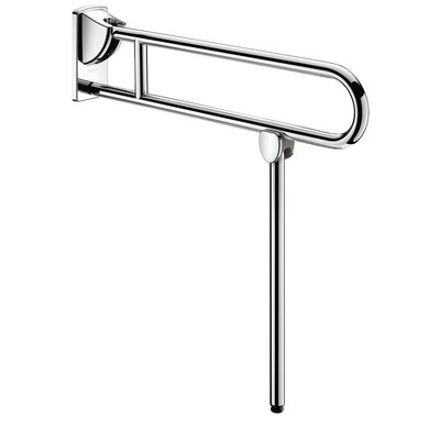 Poignée relevable avec béquille inox Ø 32 mm Delabie - L850 mm