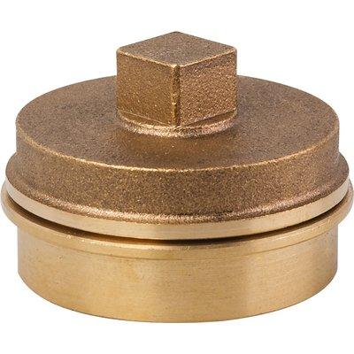 Bouchon de dégorgement à souder -  Laiton - 99 - Ø  40 mm - Riquier