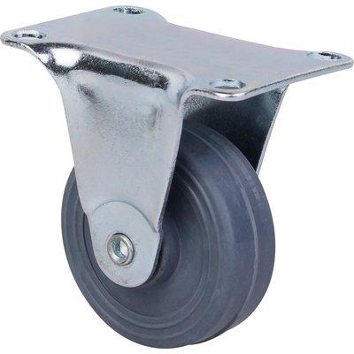 Roulette à platine fixe - Ø 30 mm - Série S18 - Caujolle