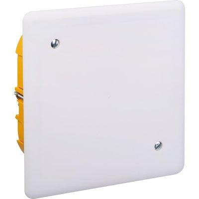 Boîte blanche rectangulaire - 170 x 230 mm - Couvercle à vis - Batibox - Le