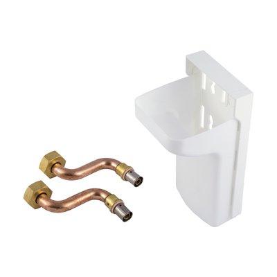 Kit de raccordement radiateur à sertir 12